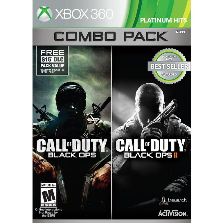 Call of Duty Black Ops 1 & 2 Combo Pack