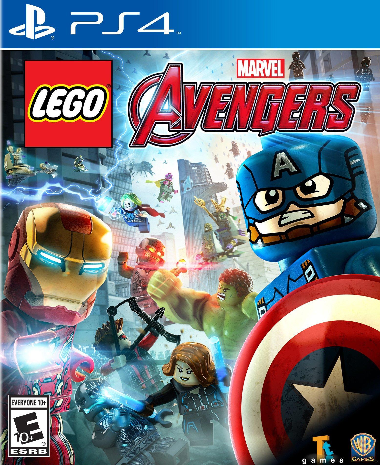 Lego Marvel S Avengers Playstation 4 Gamestop