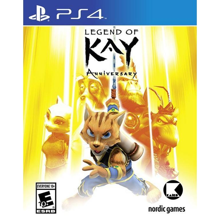 Legend of Kay Anniversary Edition