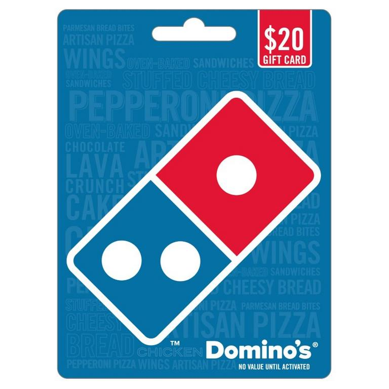 Domino's $20 Gift Card