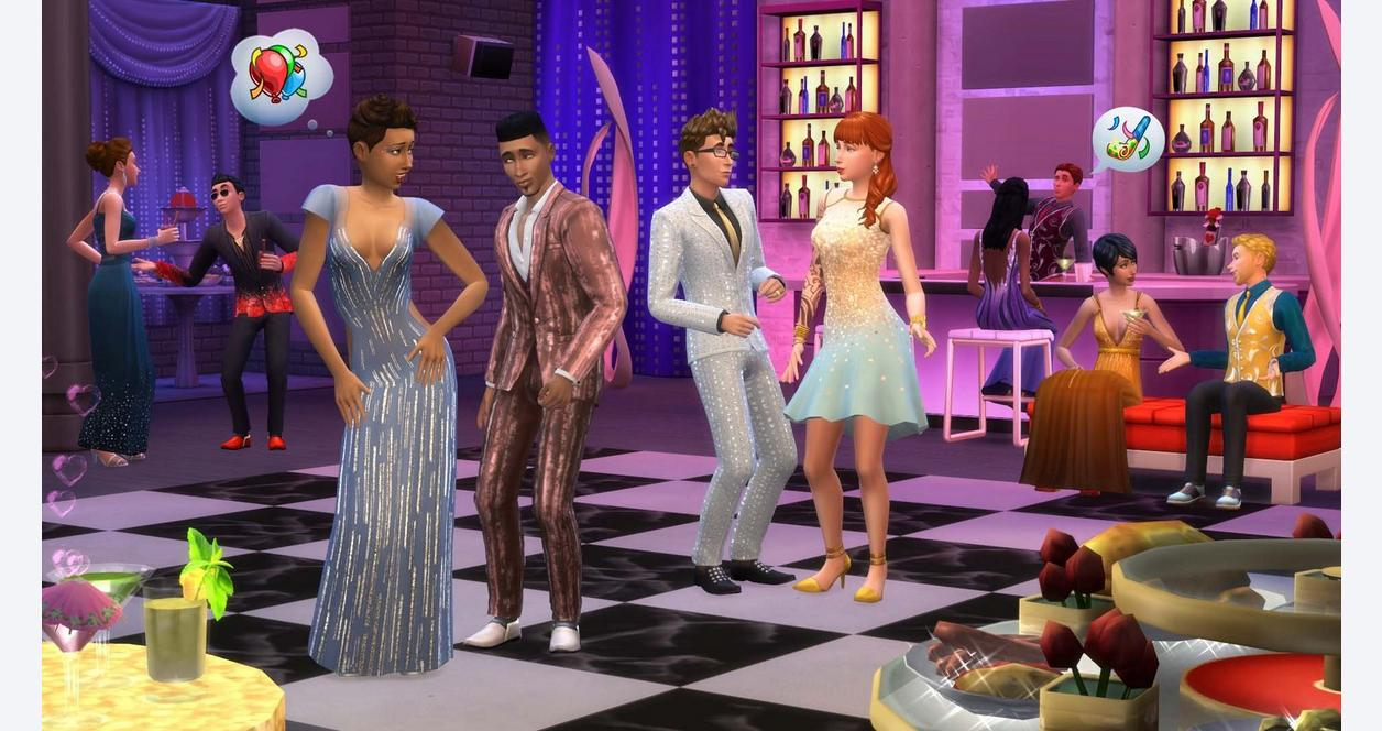 The Sims 4 Luxury Party Pack