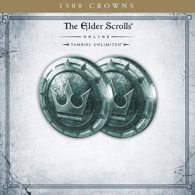 The Elder Scrolls Online Tamriel Unlimited 1,500 Crowns