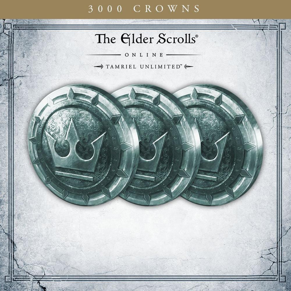 The Elder Scrolls Online Tamriel Unlimited - 3000 Crowns | PlayStation 4 |  GameStop