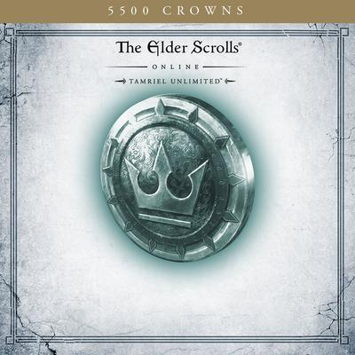 The Elder Scrolls Online Tamriel Unlimited 5,500 Crowns