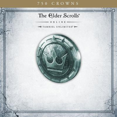 The Elder Scrolls Online Tamriel Unlimited 750 Crowns