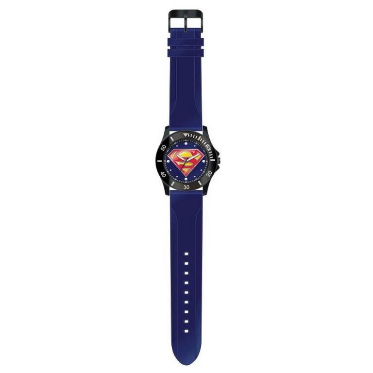 DC Superman Logo Watch