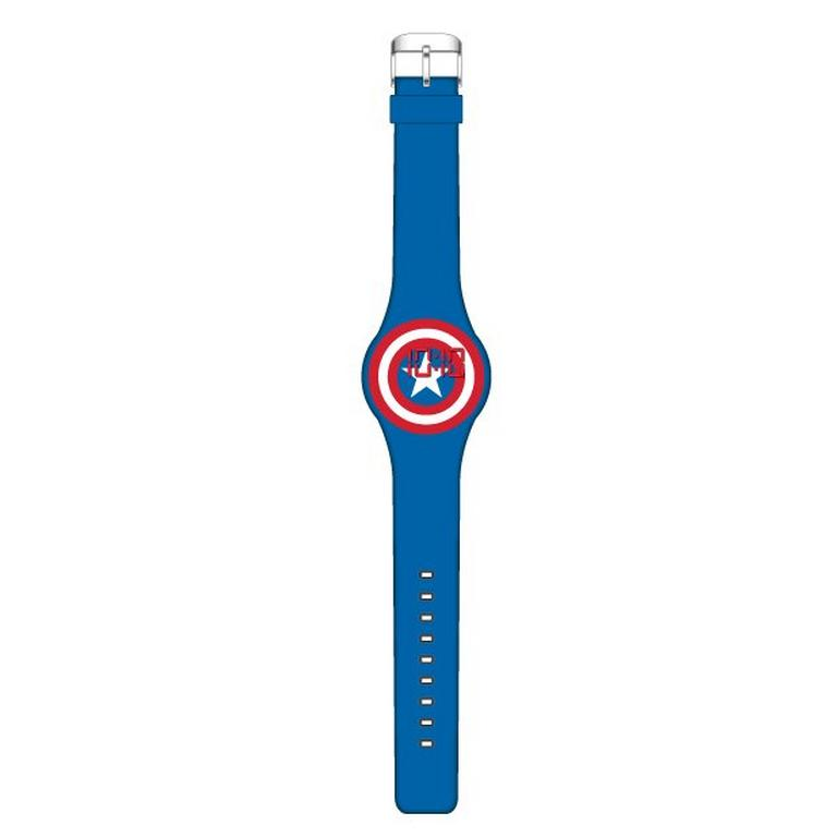 Captain America Logo LED Watch