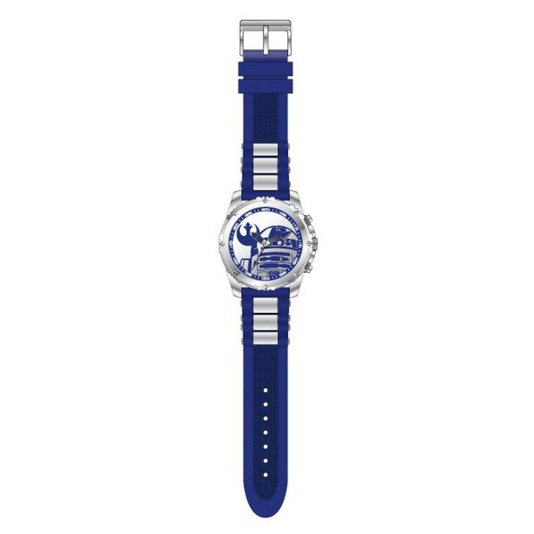 Star Wars R2-D2 Rebel Icon Blue Watch
