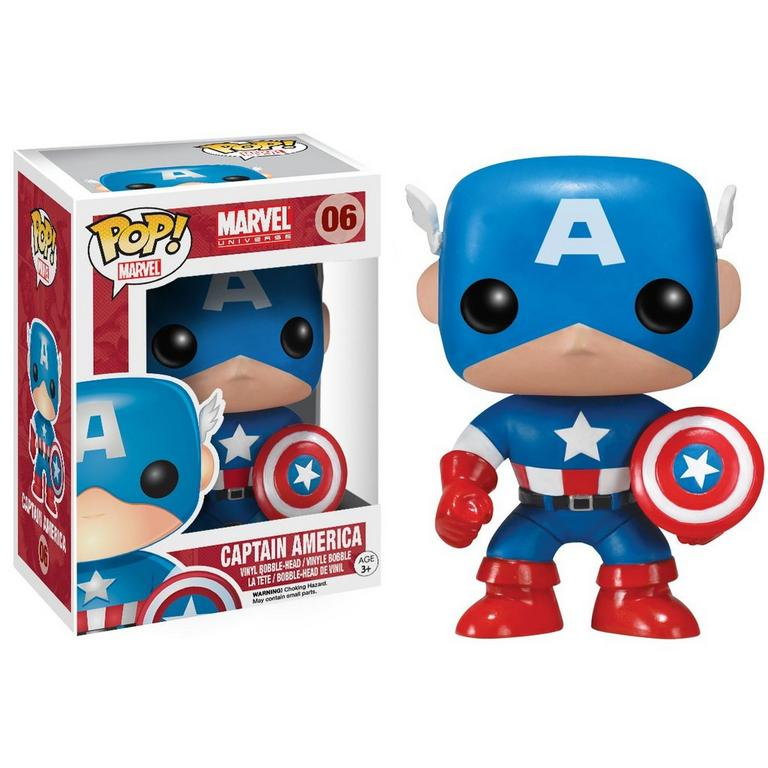 POP! Marvel: Captain America Vinyl Figure