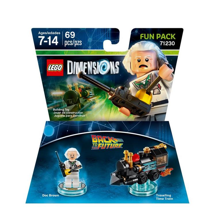 LEGO Dimensions Fun Pack: Doc Brown (Back to the Future)