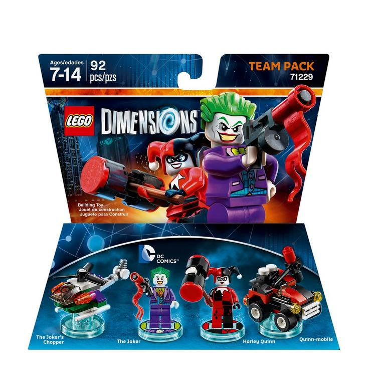 LEGO Dimensions Team Pack: Joker and Harley Quinn (DC Comics)