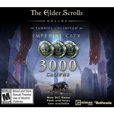 The Elder Scrolls Online Tamriel Unlimited 3000 Crowns