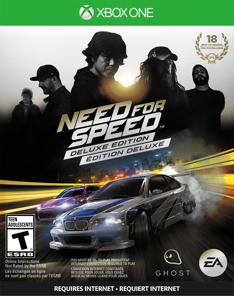 Need For Speed Deluxe Edition Xbox One Gamestop