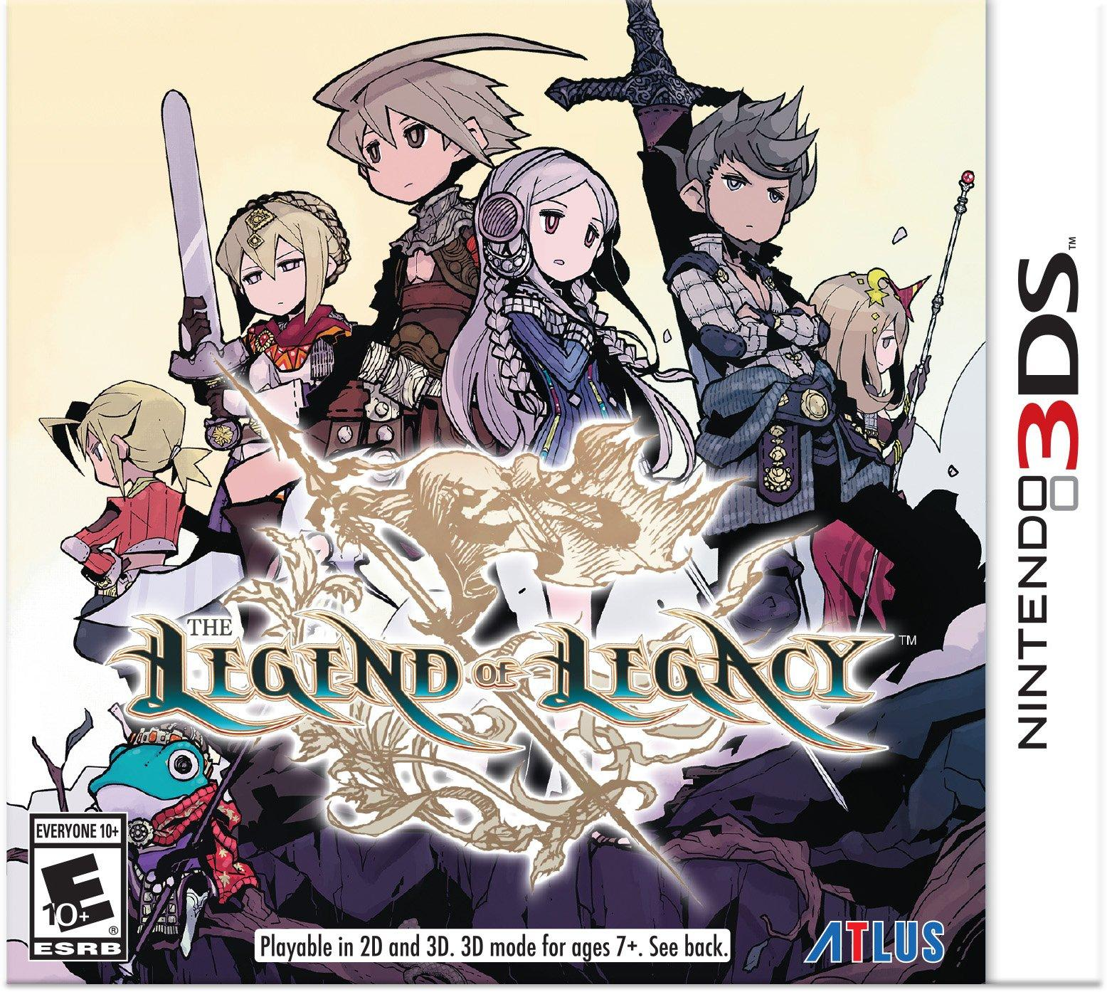 The Legend of Legacy | Nintendo 3DS | GameStop
