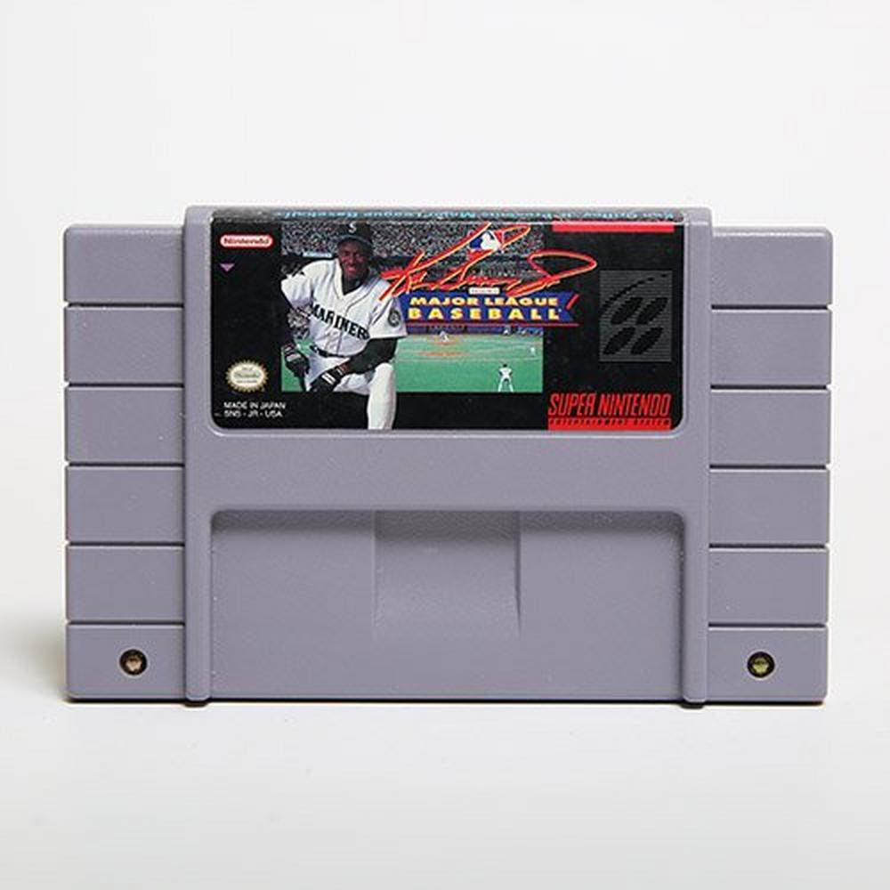 sports shoes 673b4 e4769 Ken Griffey Jr. Presents: MLB | Super Nintendo | GameStop
