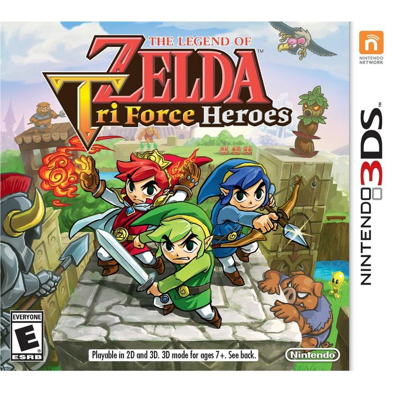 The Legend Of Zelda Triforce Heroes Nintendo 3ds Gamestop