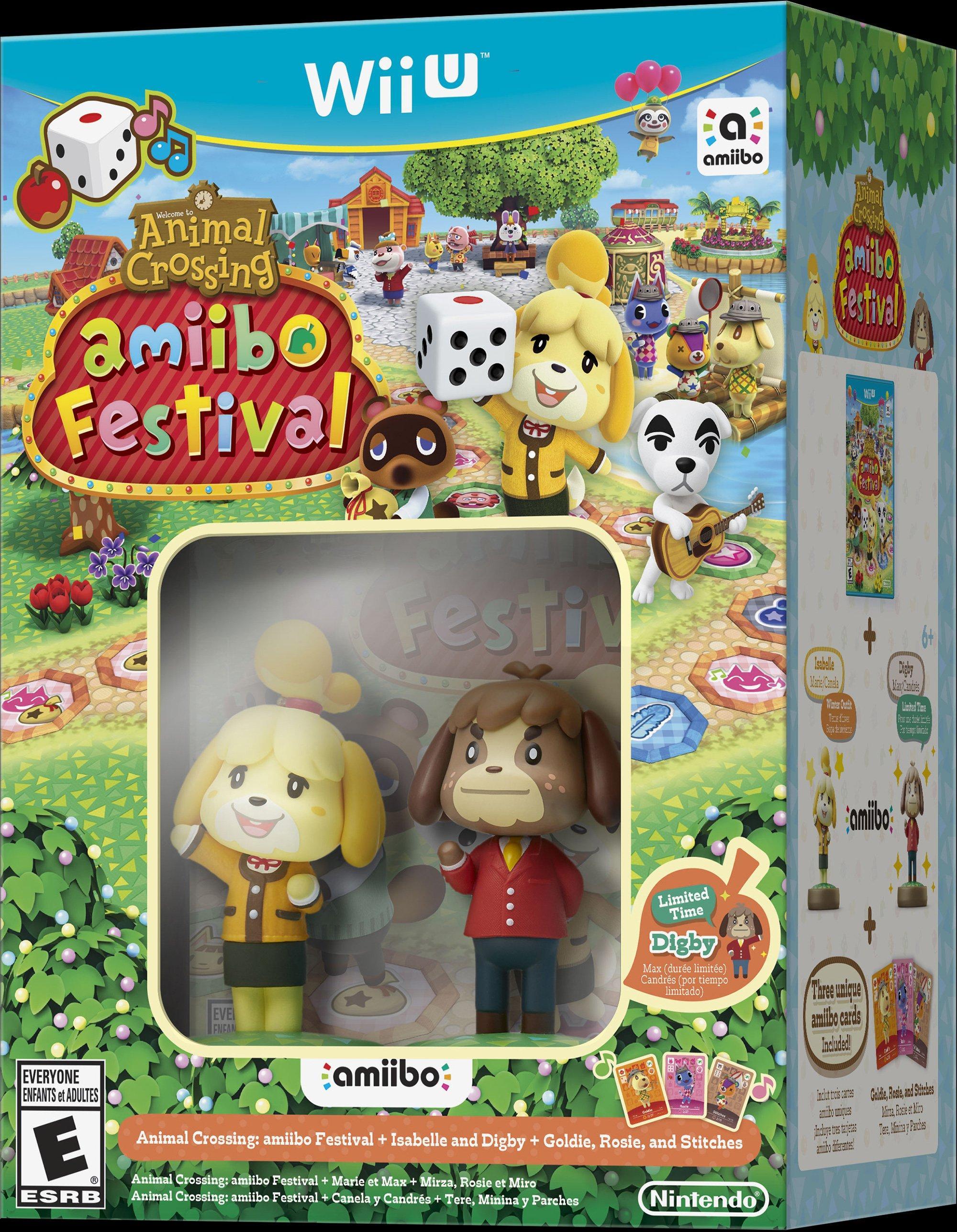 Animal Crossing Amiibo Festival Nintendo Wii U Gamestop