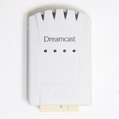 Sega Dreamcast 4x Memory Card
