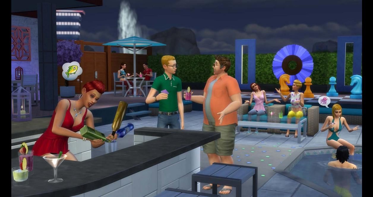The Sims 4: Perfect Patio Stuff