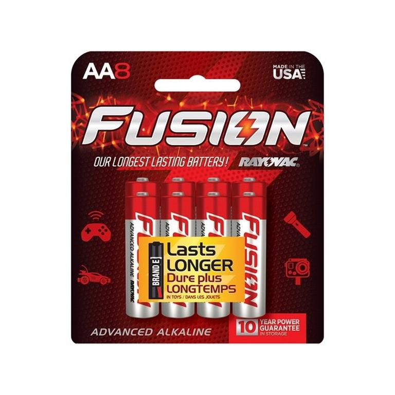 Fusion AA Battery 8 Pack