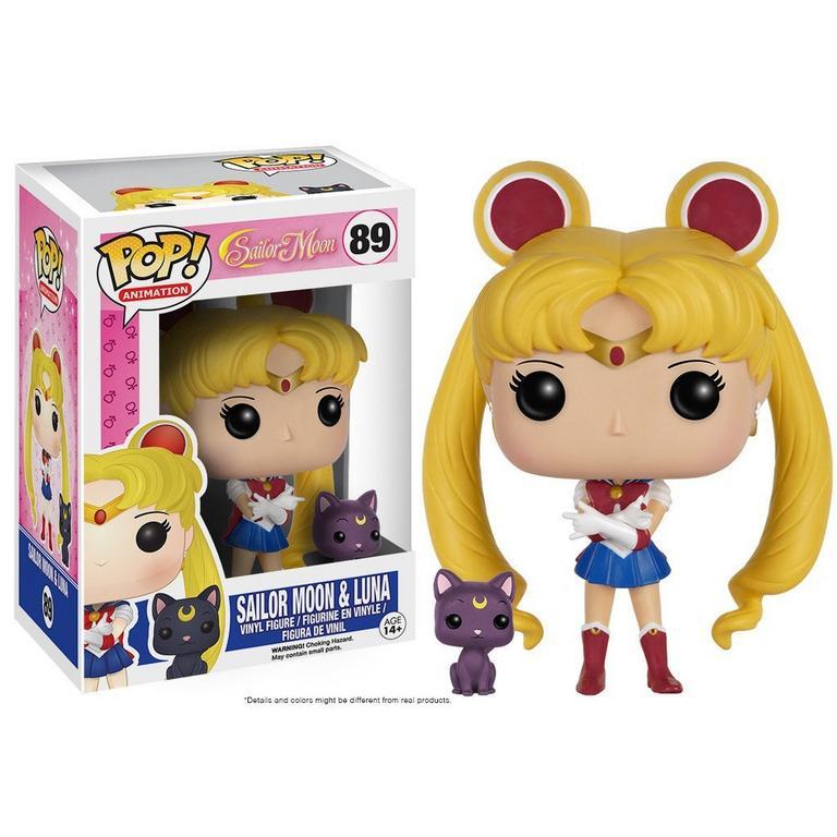 POP! Animation: Sailor Moon - Sailor Moon and Luna