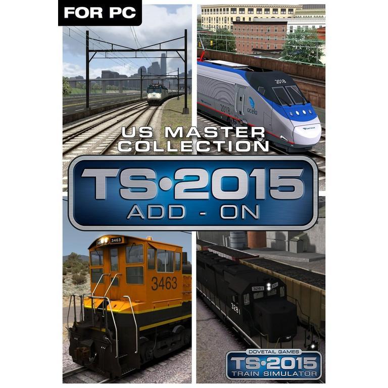 Train Simulator 2015 - US Master Collection