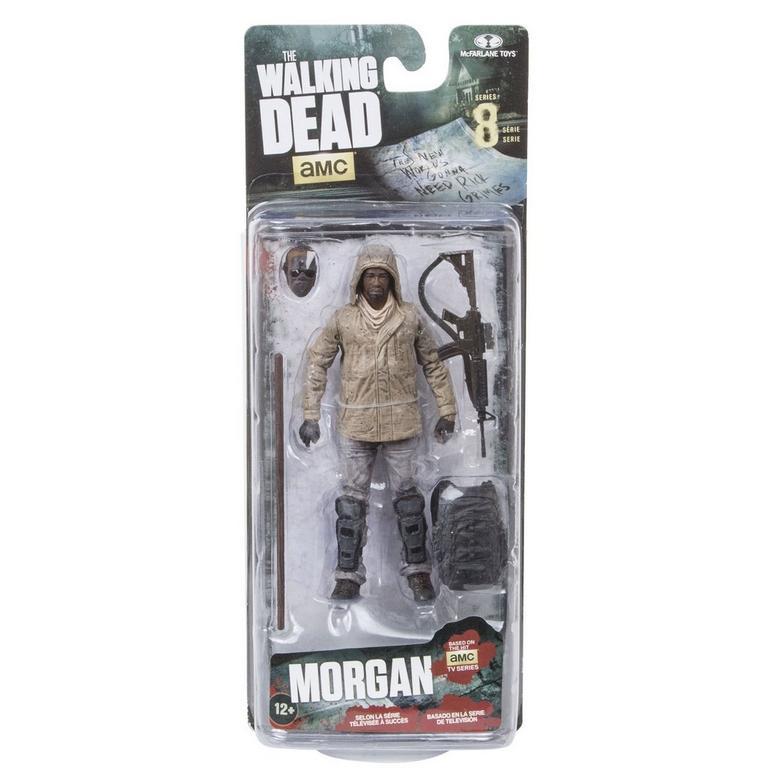 The Walking Dead Morgan Jones Series 8 Action Figure