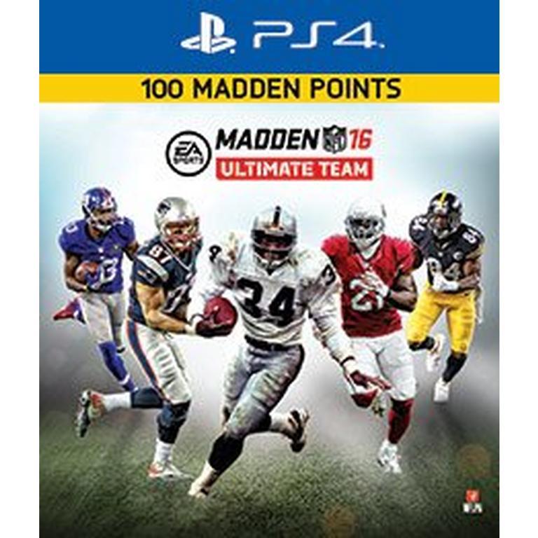 Madden NFL 16 Ultimate Team 100 Points