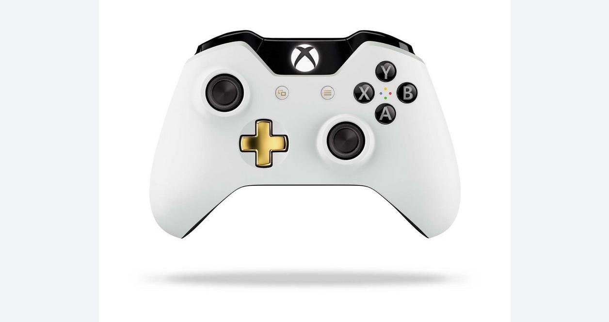 Microsoft Xbox One Lunar White Wireless Controller Only at GameStop