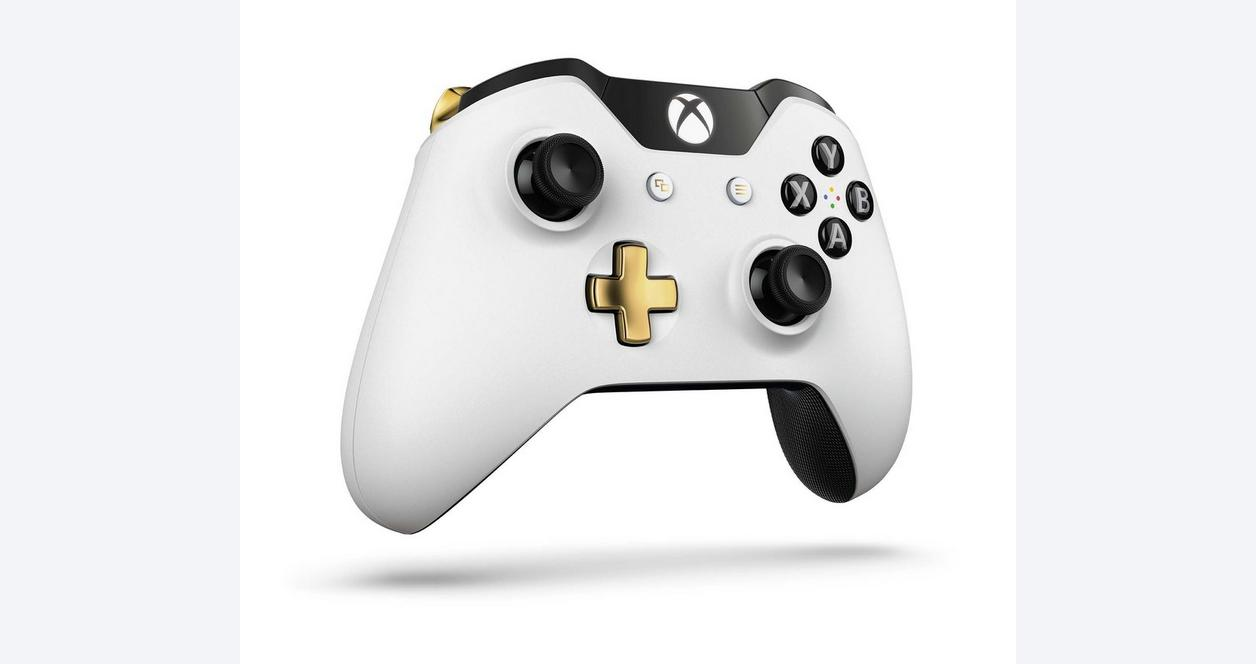Xbox One Lunar White Controller - Only at GameStop