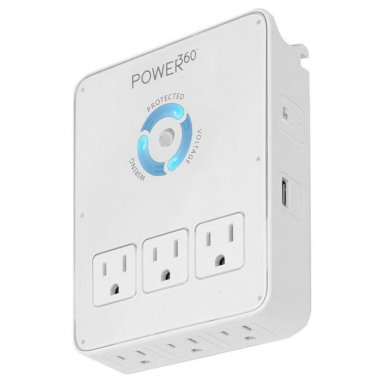 Power360 P360 - Dock Surge Protector and USB Charger