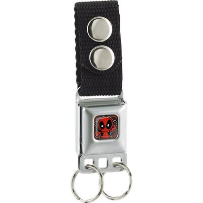 Deadpool Seatbelt Buckle Keychain