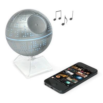 Death Star Bluetooth Speaker - by ThinkGeek