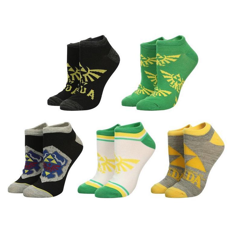 The Legend of Zelda Ankle Socks 5 Pack