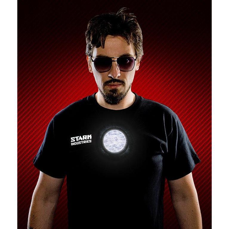 Marvel Stark Industries Light-Up LED T-Shirt