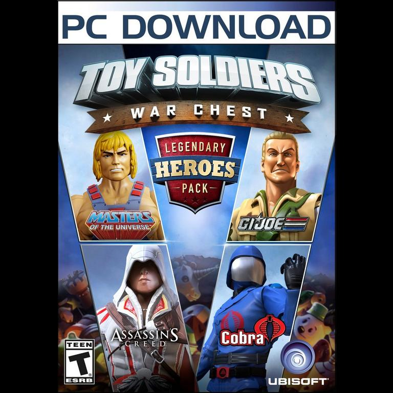 Toy Soldiers War Chest Legendary Heroes Pack Pc Gamestop