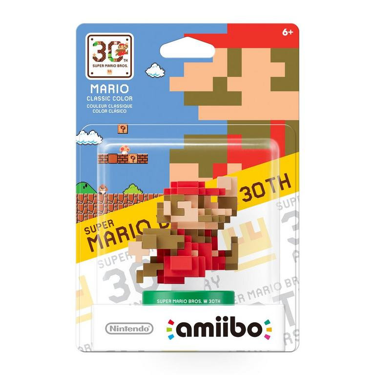 Super Mario Bros. 30th Anniversary Mario Classic Color amiibo
