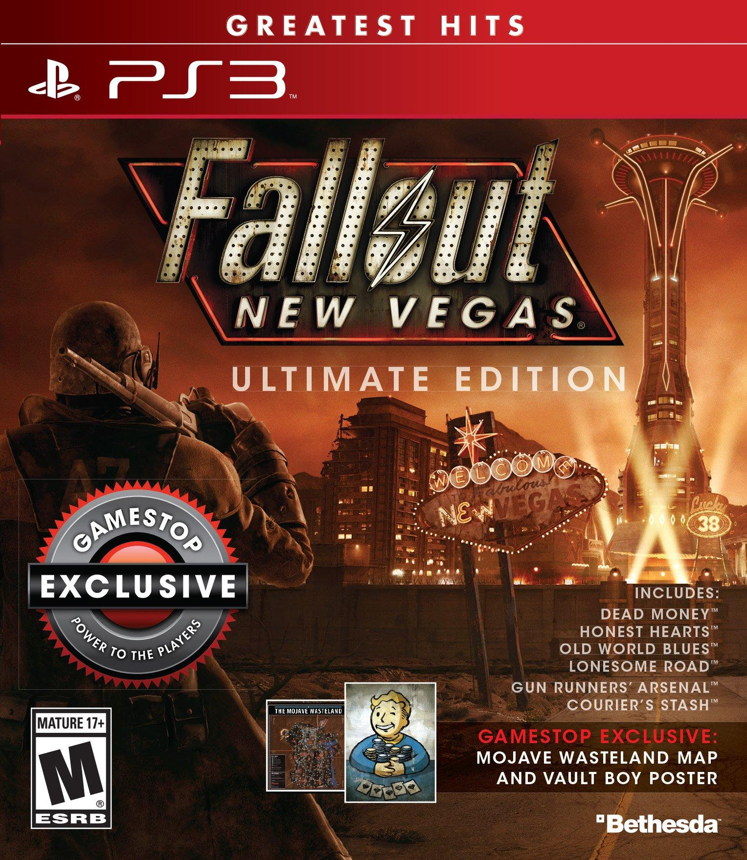 Fallout New Vegas Ultimate Edition - Only at GameStop | PlayStation 3 |  GameStop