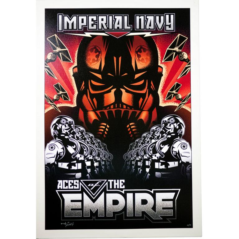 Star Wars Imperial Navy: Aces of the Empire Canvas Art