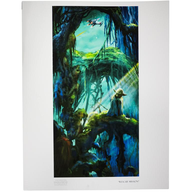 Star Wars - Rescue Mission Giclee Paper Print