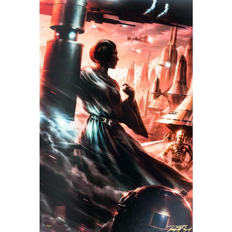 Star Wars Last Look Back Canvas Art
