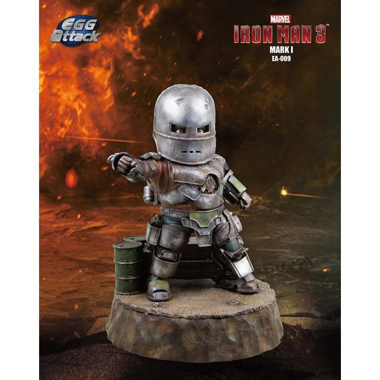 Marvel Iron Man 3 Mark 1 Egg Attack Figure