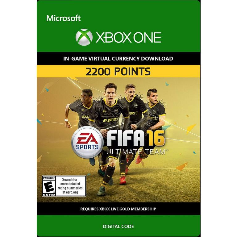 FIFA 16 2,200 Ultimate Team Points