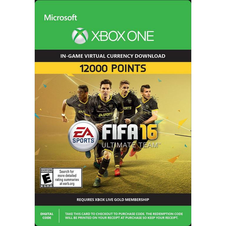 FIFA 16 12,000 Ultimate Team Points