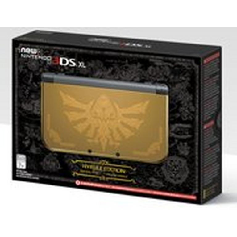 Nintendo New 3DS XL - Hyrule Gold Edition - Only at GameStop