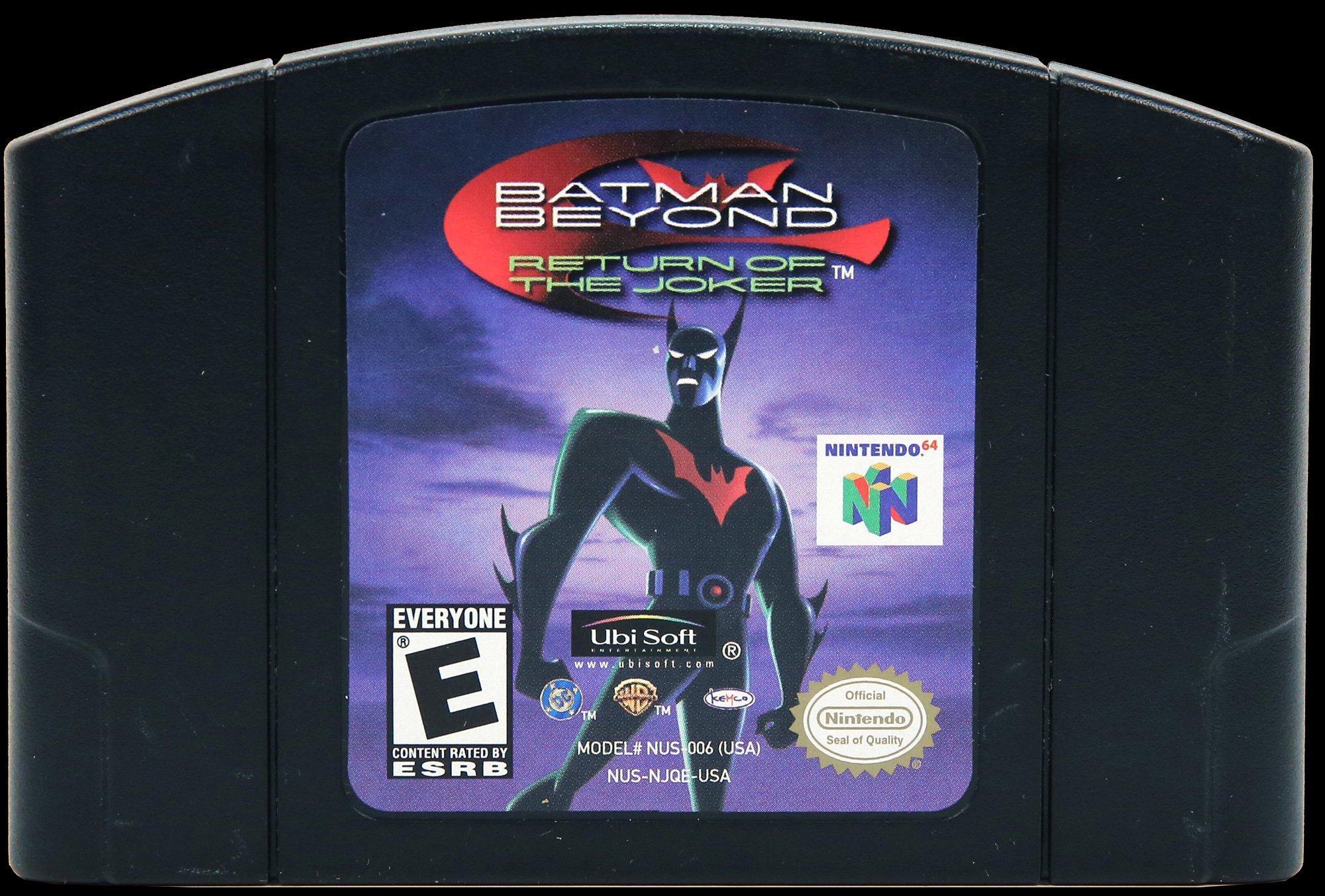Batman Beyond Return Of Joker Nintendo 64 Gamestop
