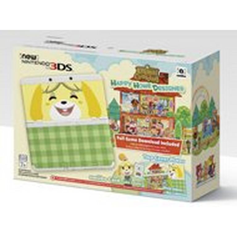 New Nintendo 3DS Animal Crossing: Happy Home Designer Bundle