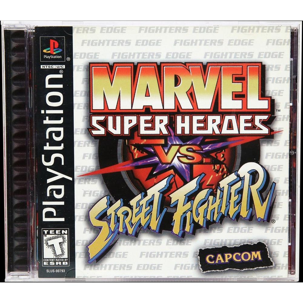 Marvel Super Heroes vs  Street Fighter | PlayStation | GameStop