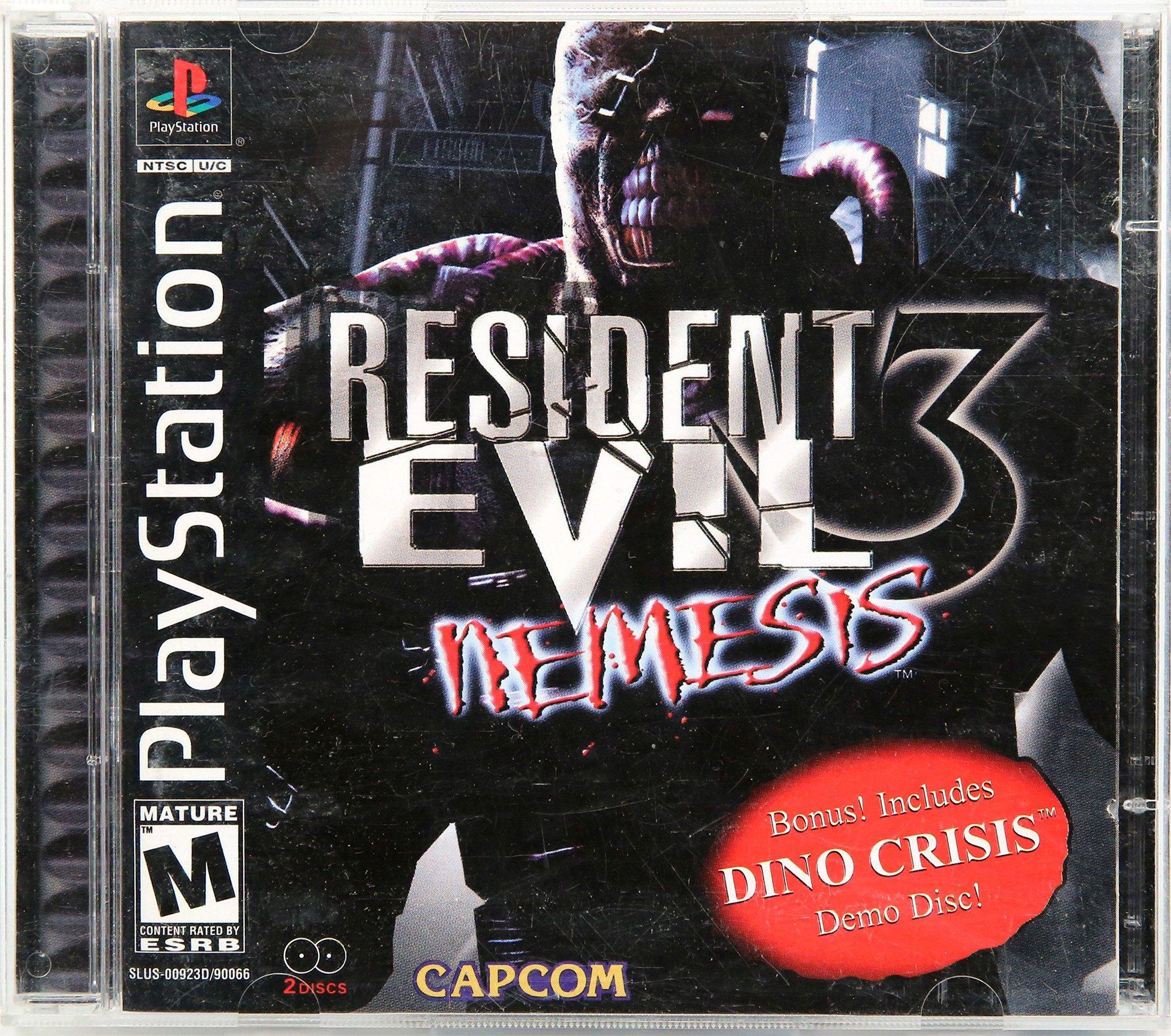 Resident Evil 3 Nemesis Playstation Gamestop