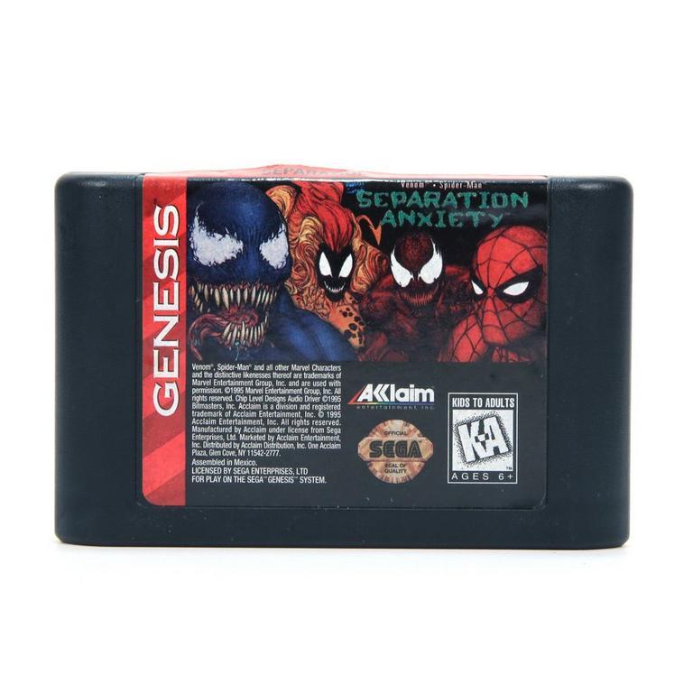 Spider-Man and Venom: Separation Anxiety